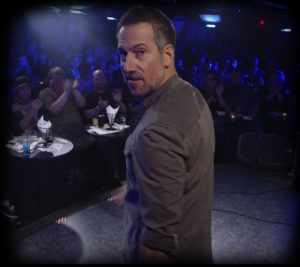 Joe Matarese Walks on Stage
